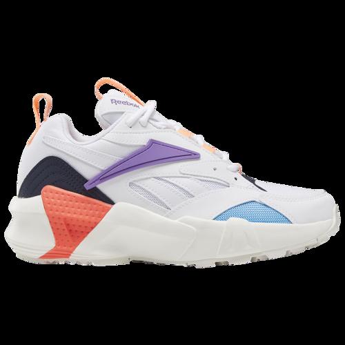 Photo of Reebok Aztrek Double Casual Training Shoes – White / Grape P…