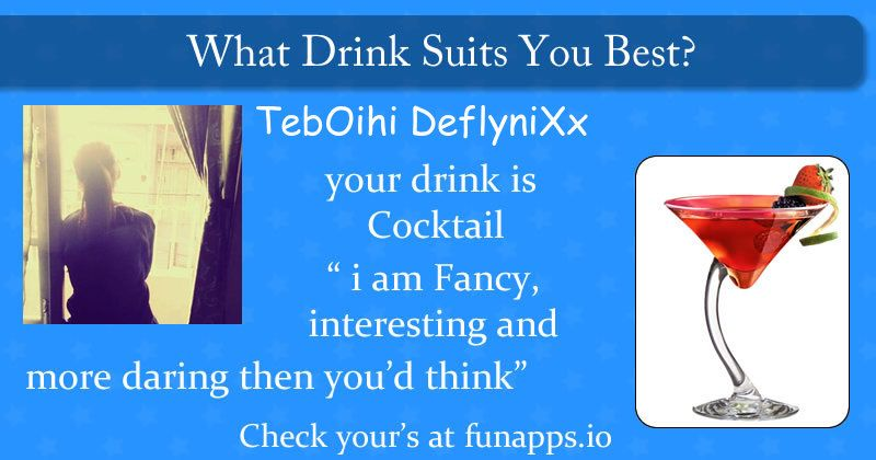 Which Drink Suits You Best? Find Out Now With This Cool App. Enjoy This Fun App.