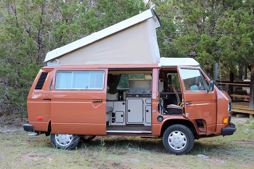1984 Volkswagen Westfalia Motor Home Camper Van Rental In Austin Tx Outdoorsy In 2020 Volkswagen Westfalia Vw Vanagon Rent Camper