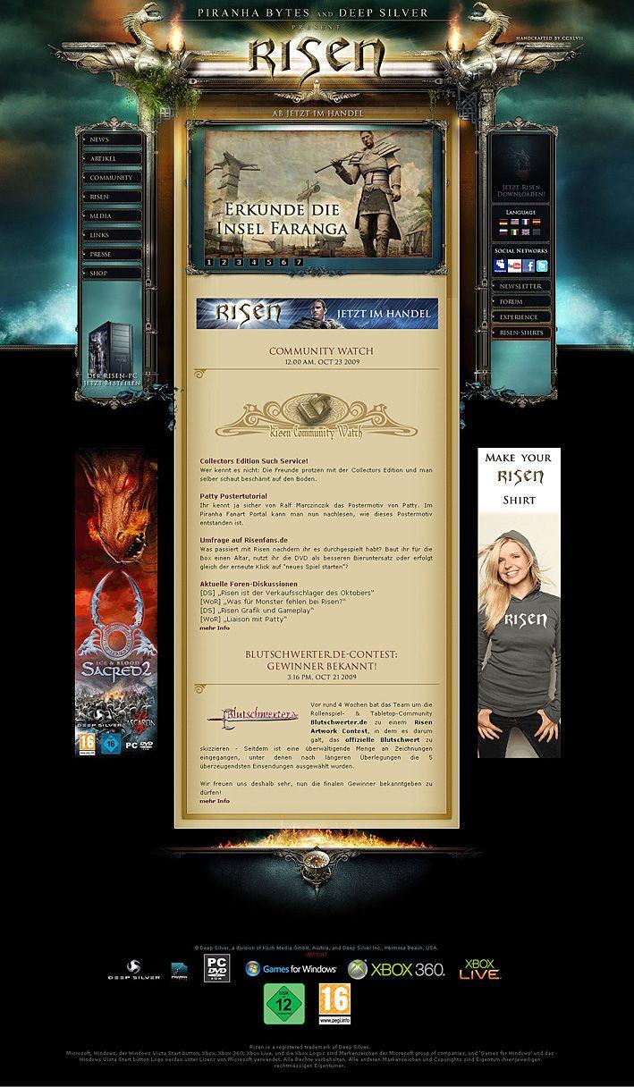 Alle Anderen 2009 excellent work | media design, web design, cool words