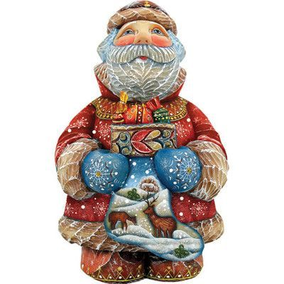 Pin By Scott Pattison On Carving Santa Figurines The Holiday Aisle Old World