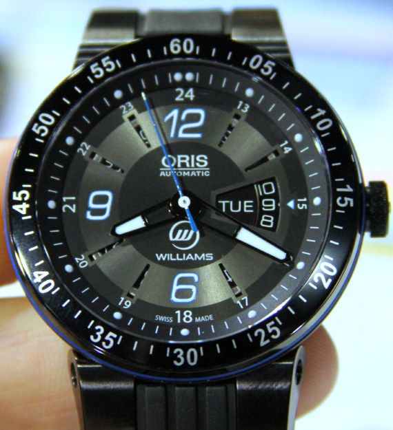 Oris Williams F1 Team Day Date Watch  b16d1240fd1