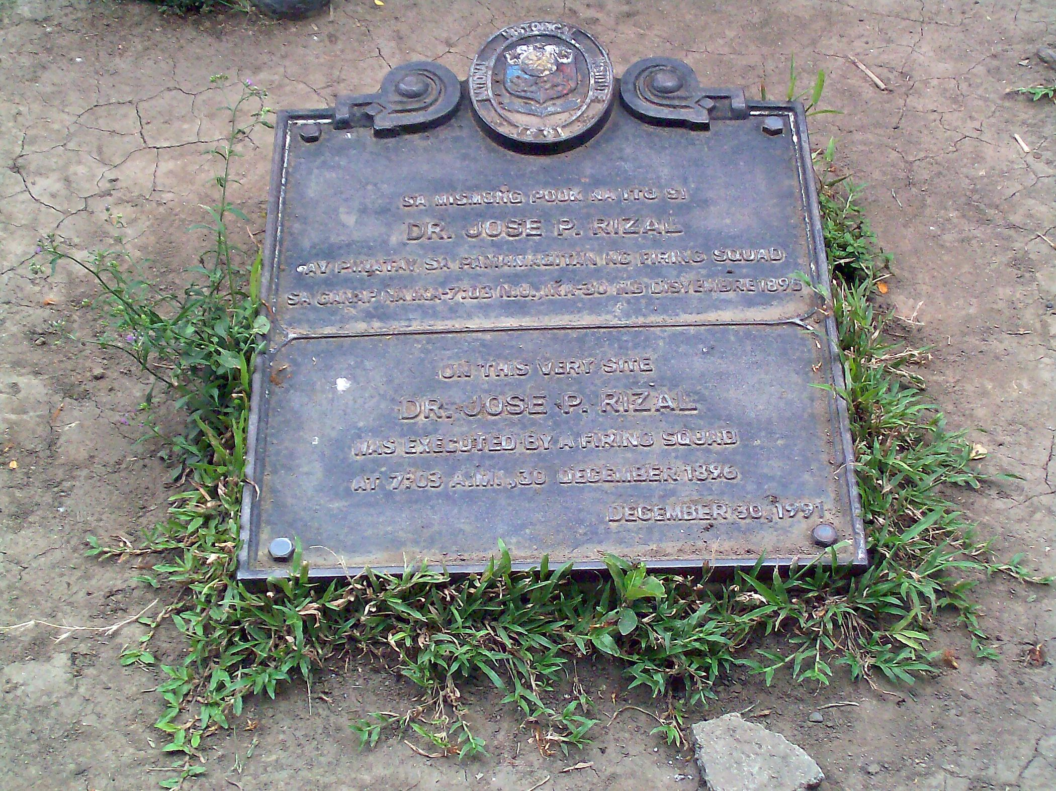 execution of dr jose rizal