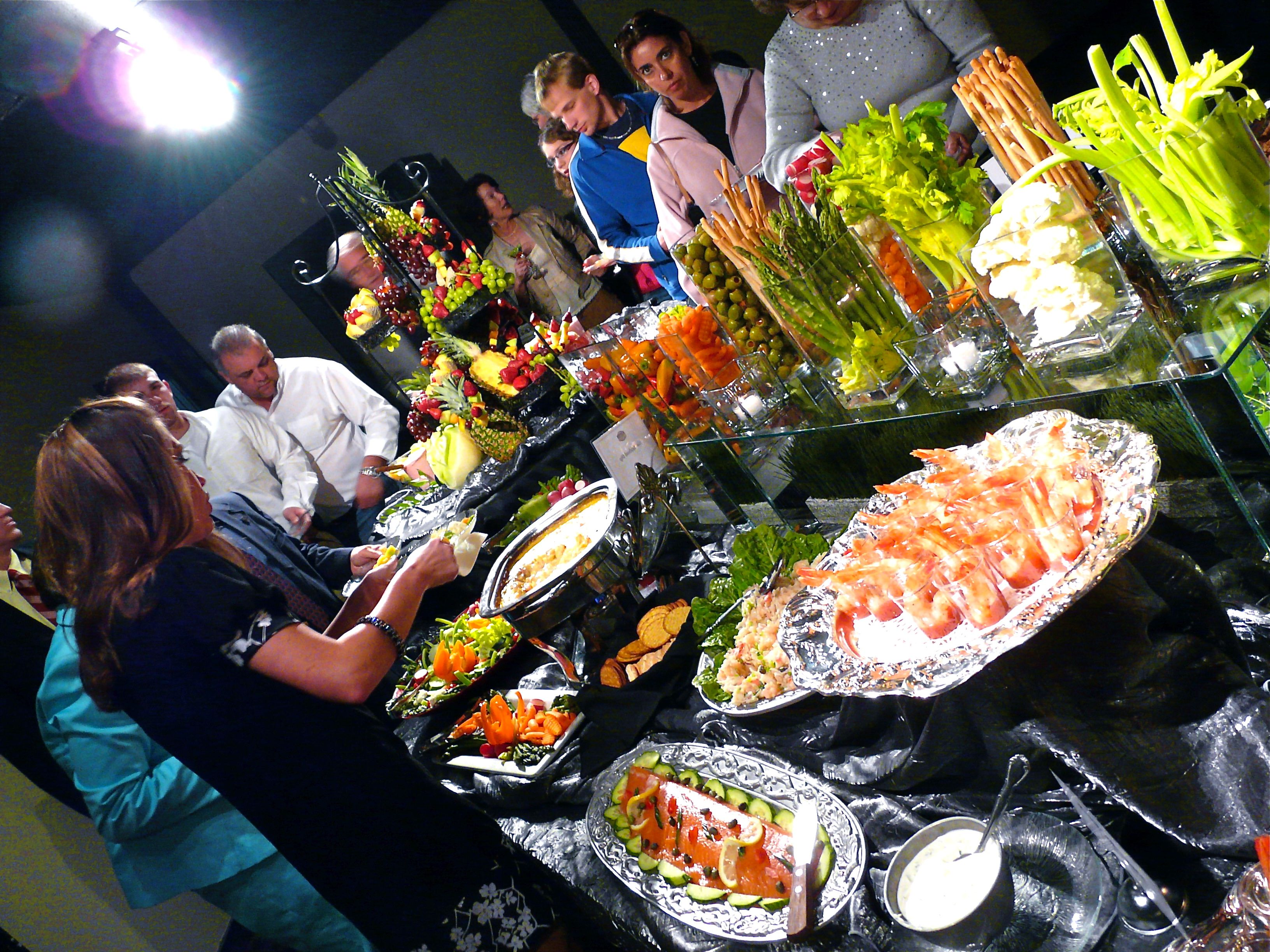 Spectacular buffet by Carl Jones, Premier Place Catering