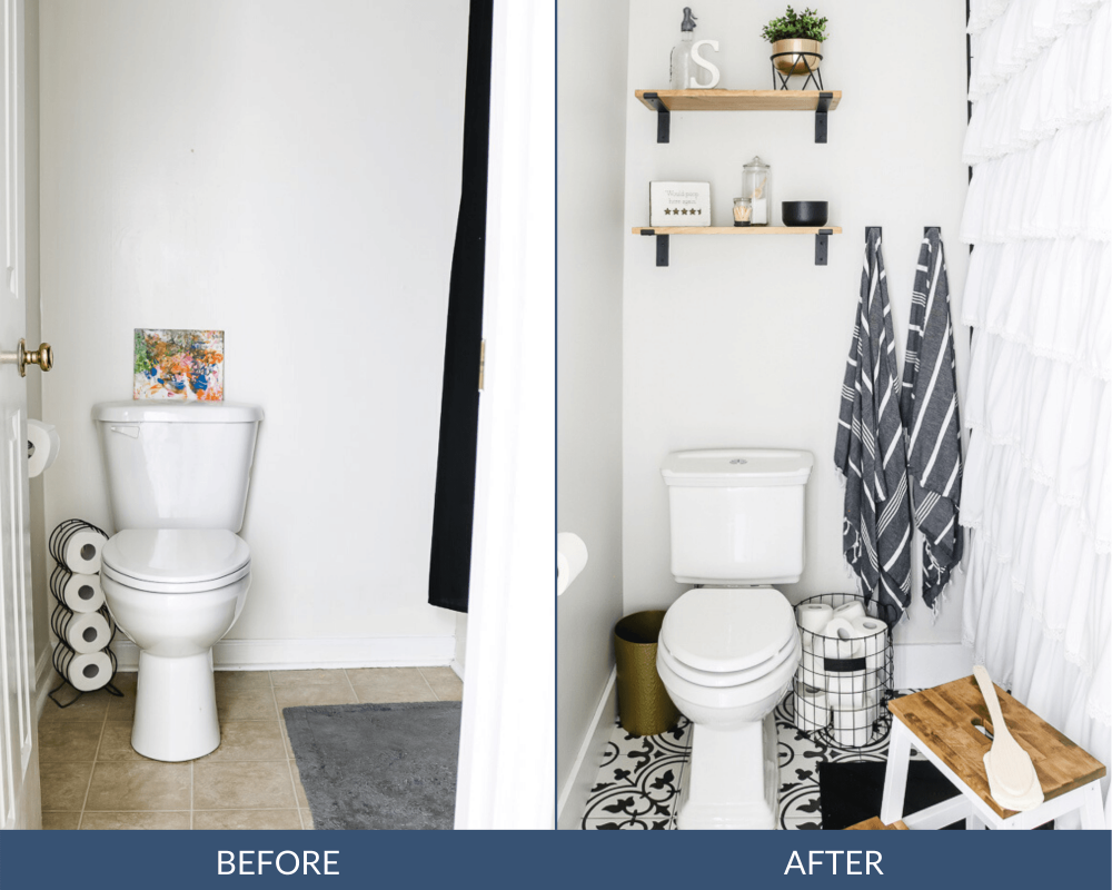 Before And After Small Bathroom Remodel How Much Does A Bathroom Remodel Cost Bathroom Cost Remodel Small In 2020