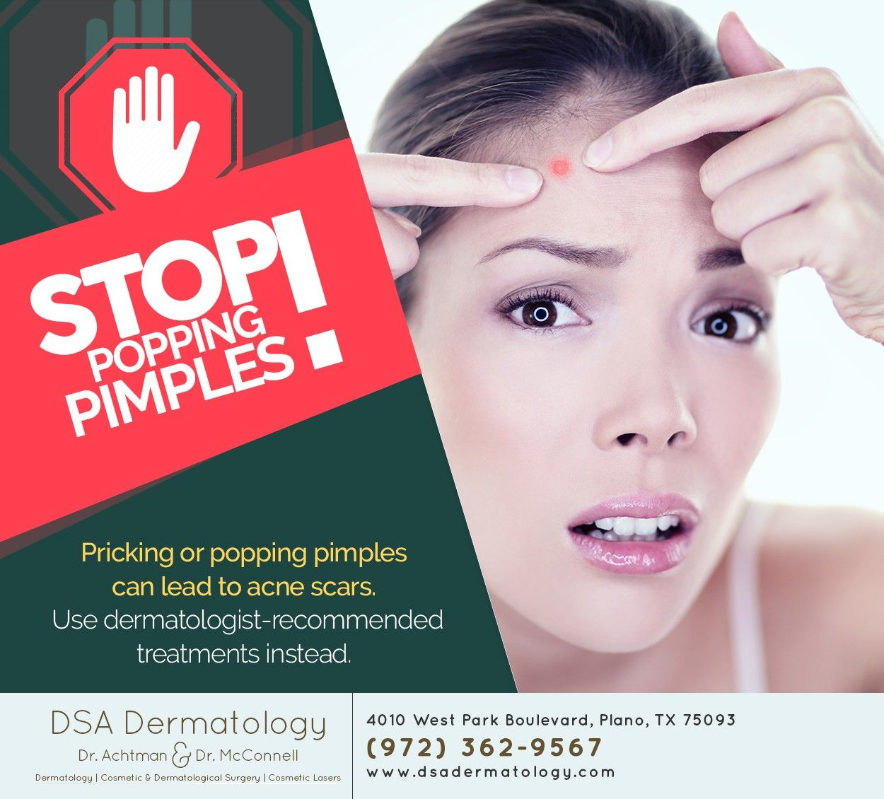 Before you pop another pimple, visit us at http//www
