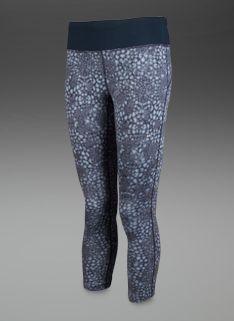 Nike Womens Epic Run Printed Capri - Womens Running Clothing - Light Armory  Blue-Armory