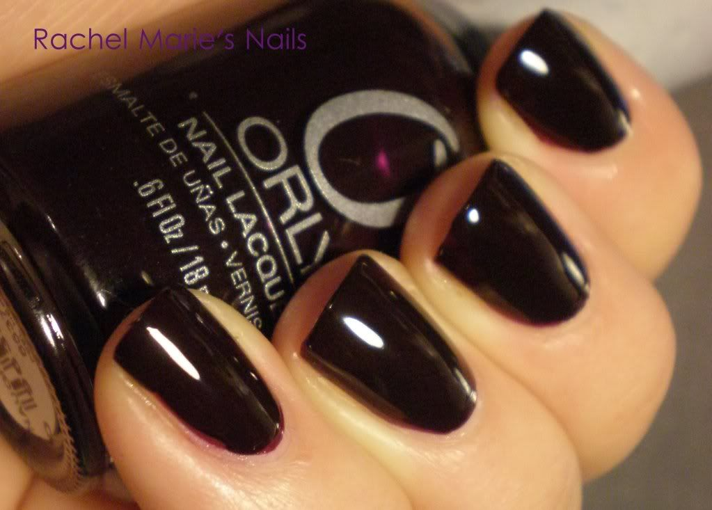 Orly Naughty or Nice - dark burgundy almost black | ORLY Nail Polish ...