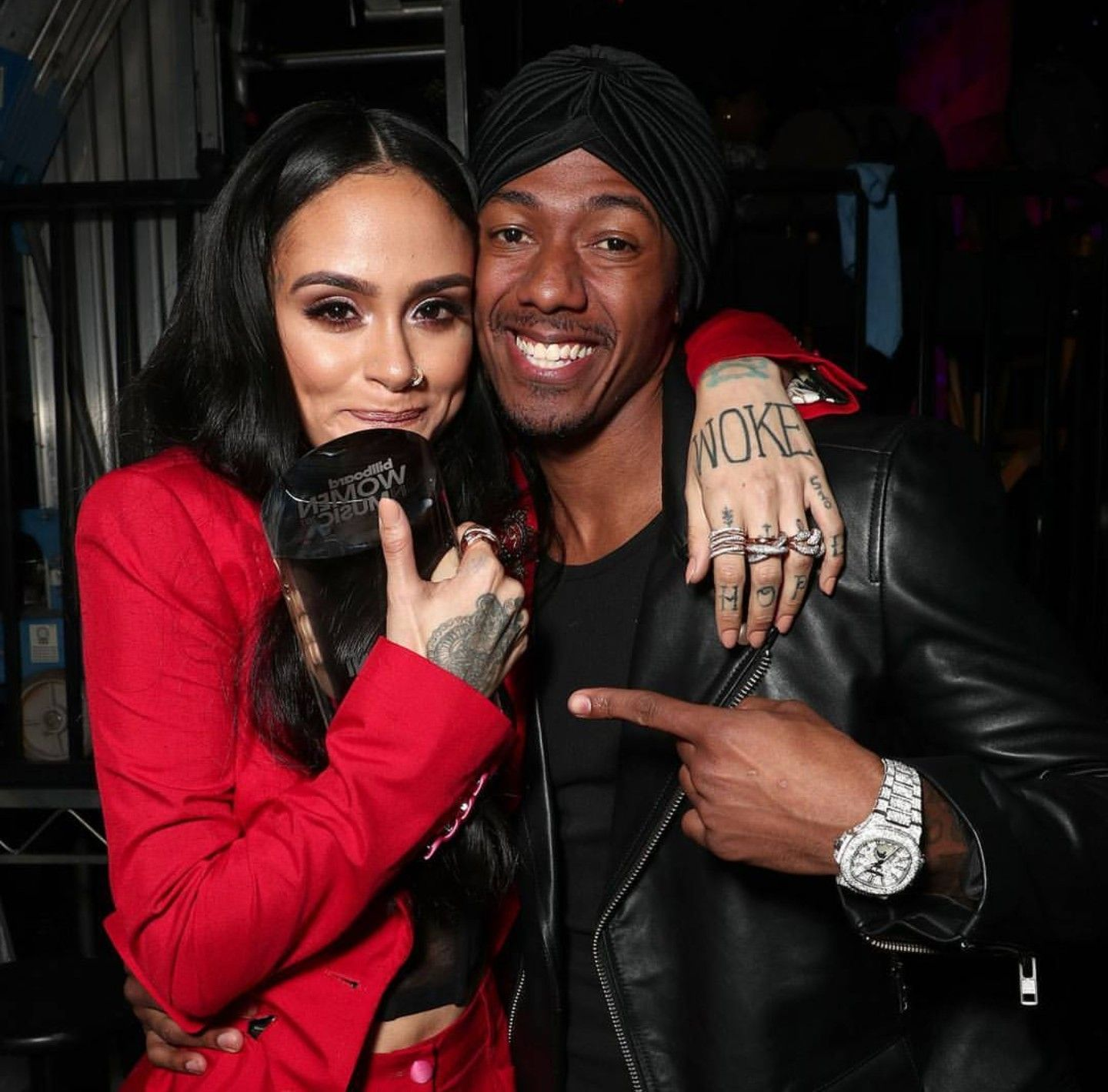 Kehlani And Nick Cannon At Billboard Women In Music Awards November 2017 Billboard Women In Music Kehlani Women In Music