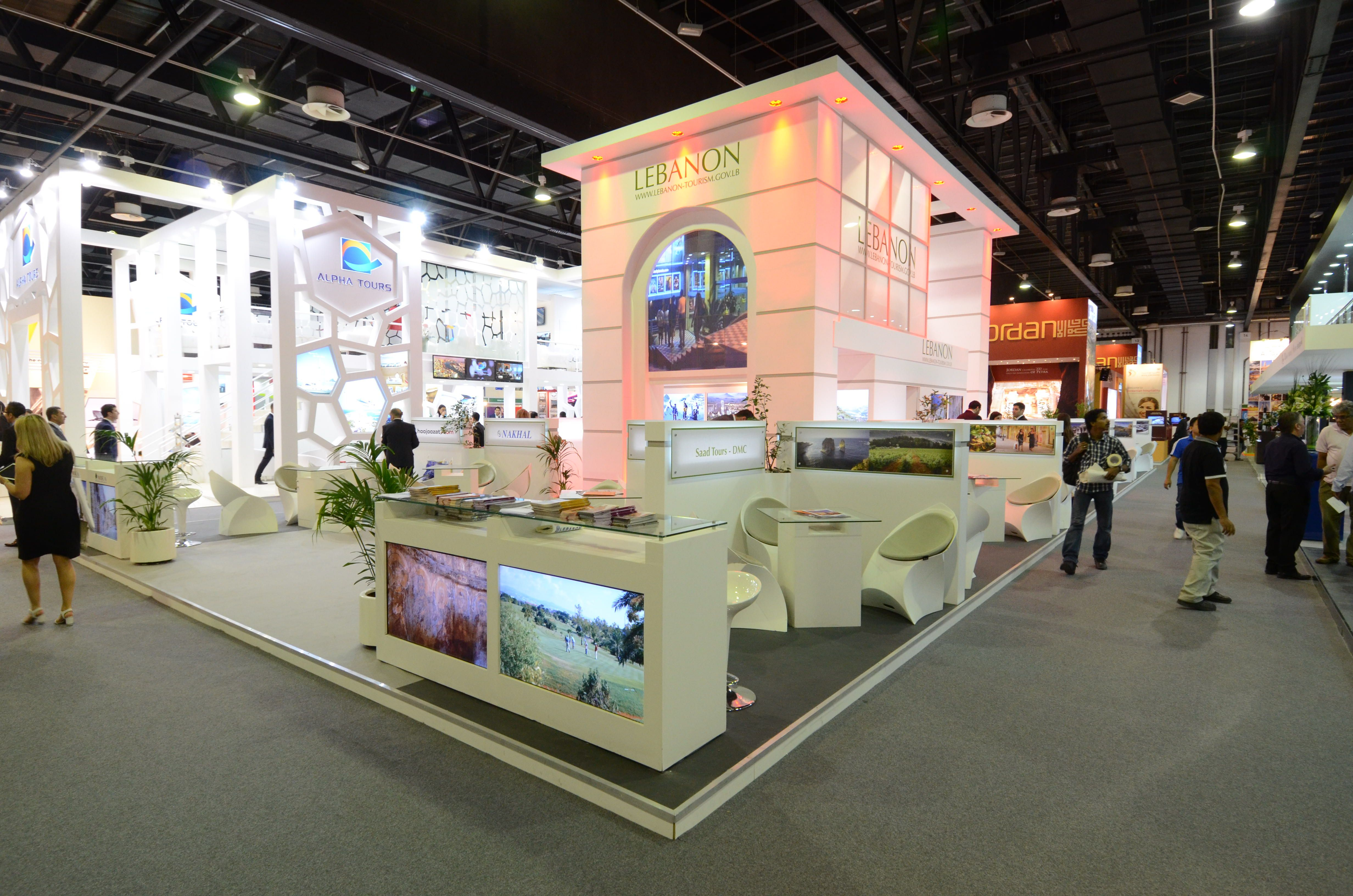 Exhibition Stand Management : Exhibition stand at atm dubai design and