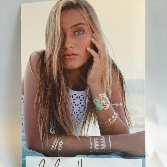 Lulu Dk Blue Lagoon Tattoos Nwt All Tattoos Jewelry Tattoo Metal Tattoo Fashion
