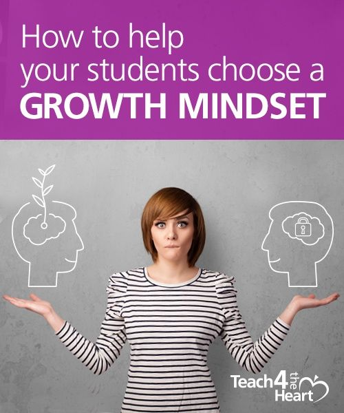 How To Help Your Students Choose A Growth Mindset Growth Mindset