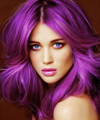 Pretty Purple #haircolors Chicago Hair Extensions Salon - Google+