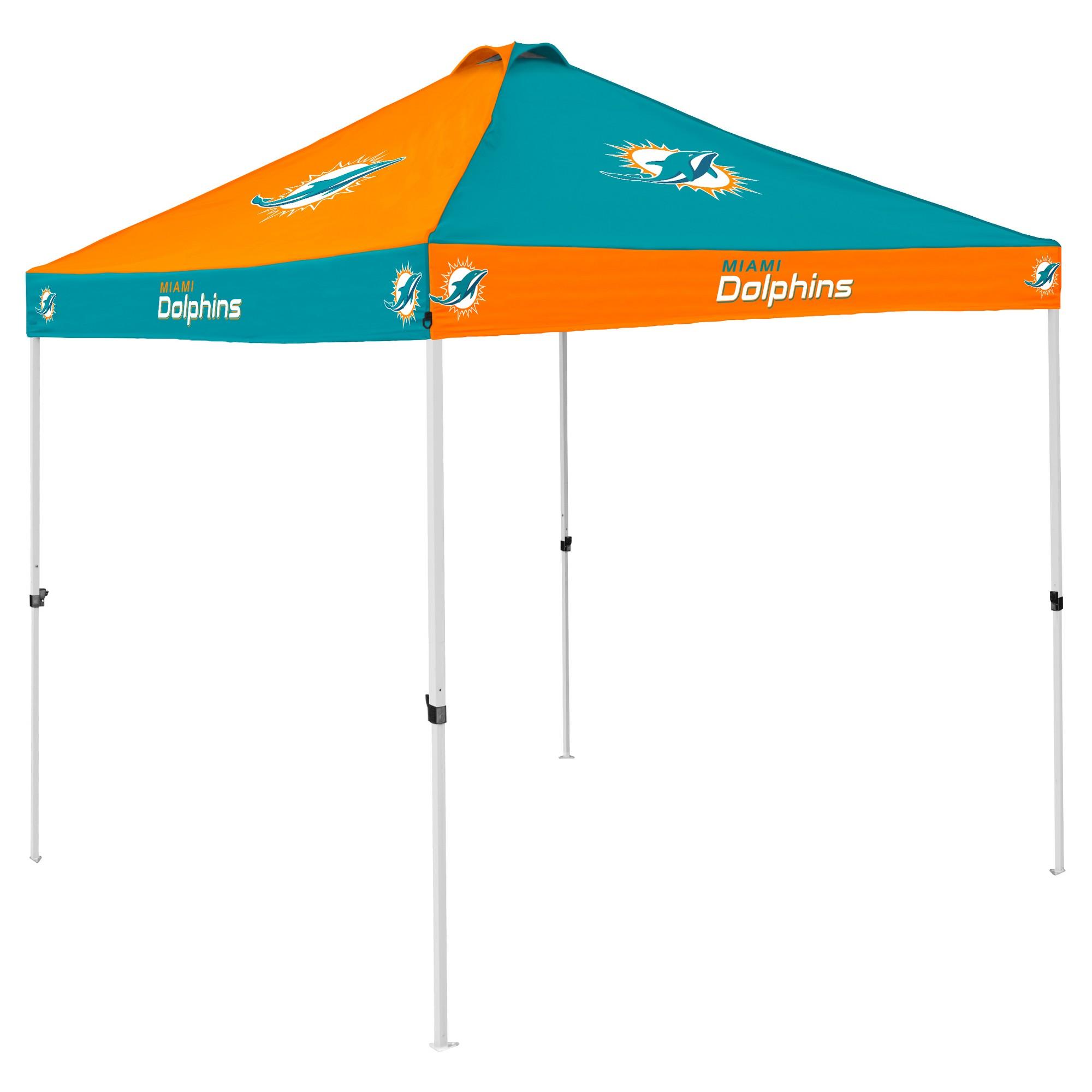 NFL Miami Dolphins 9x9u0027 Checkerboard Canopy Tent  sc 1 st  Pinterest & NFL Miami Dolphins 9x9u0027 Checkerboard Canopy Tent   Nfl miami ...