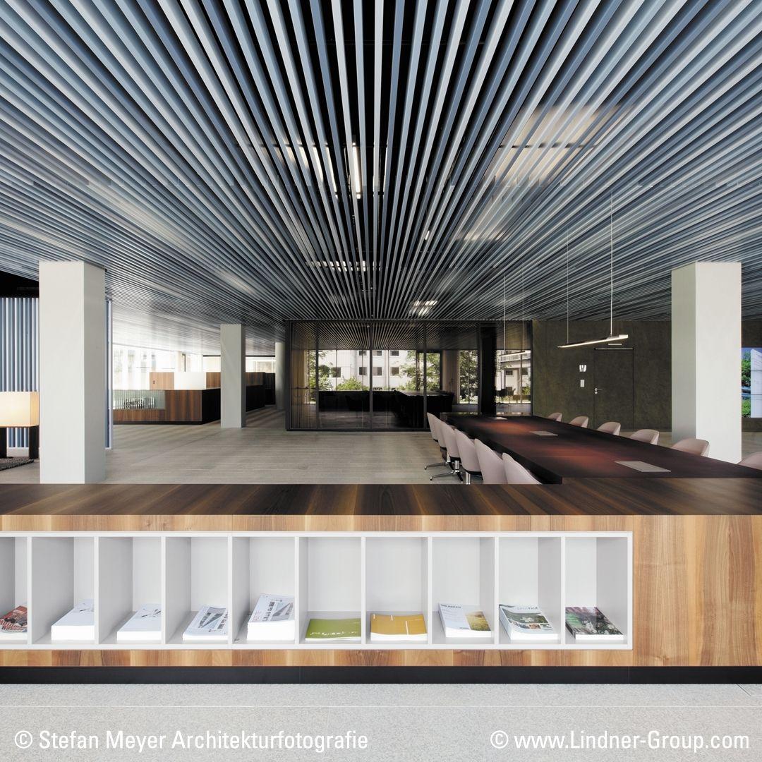 Linear Metal Baffle Ceiling Baffle Ceilings Constructions Impress