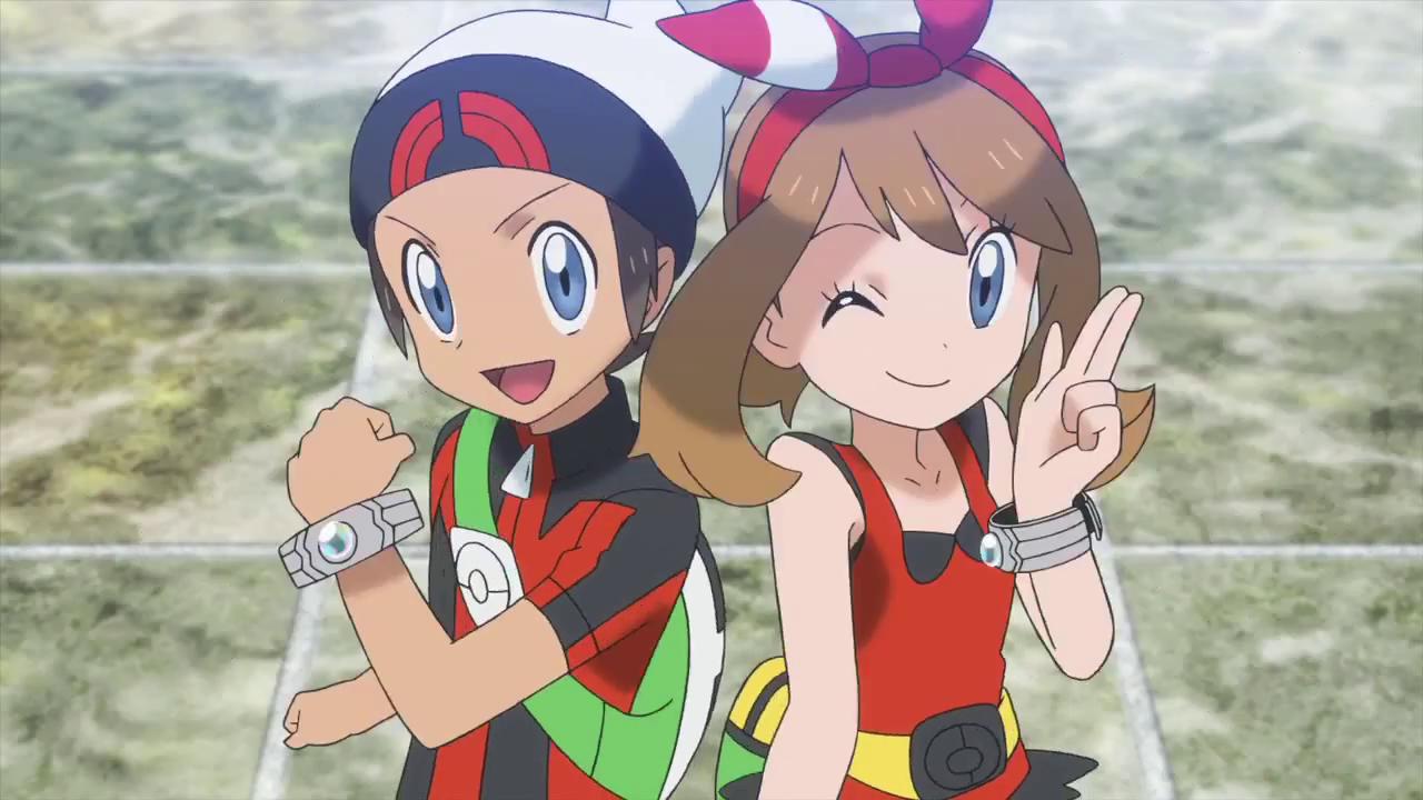7d2bc89a761c Brendan   May! Pokémon Omega Ruby   Pokémon Alpha Sapphire
