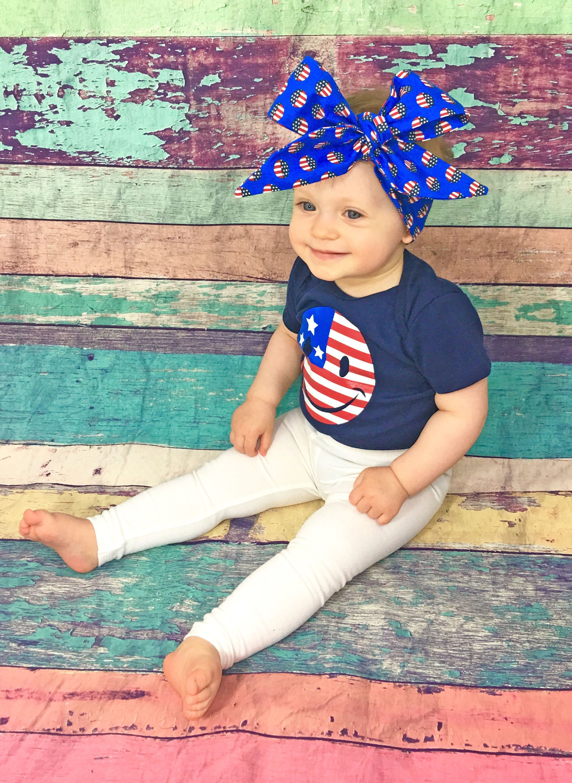 Patriotic head wrap baby head wrap headwrap baby headwrap head wrap