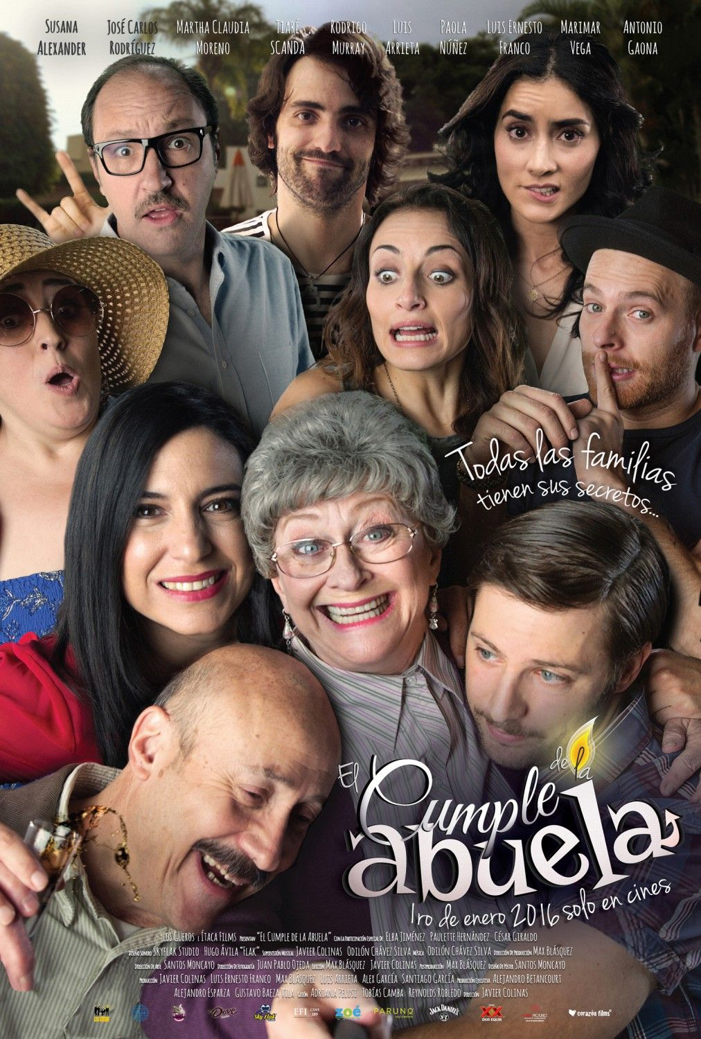 Return To The Main Poster Page For El Cumple De La Abuela 2 Of 2 Badass Movie Movies 2016 Internet Movies