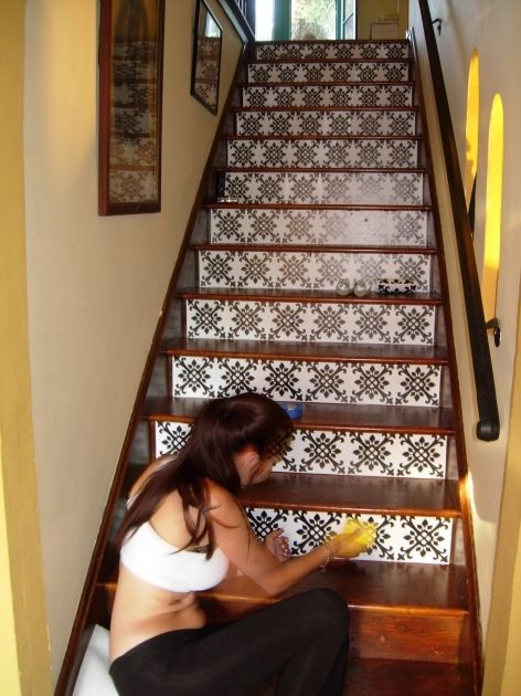Best Tiles For Stair Risers Stair Risers Stair Decor 400 x 300
