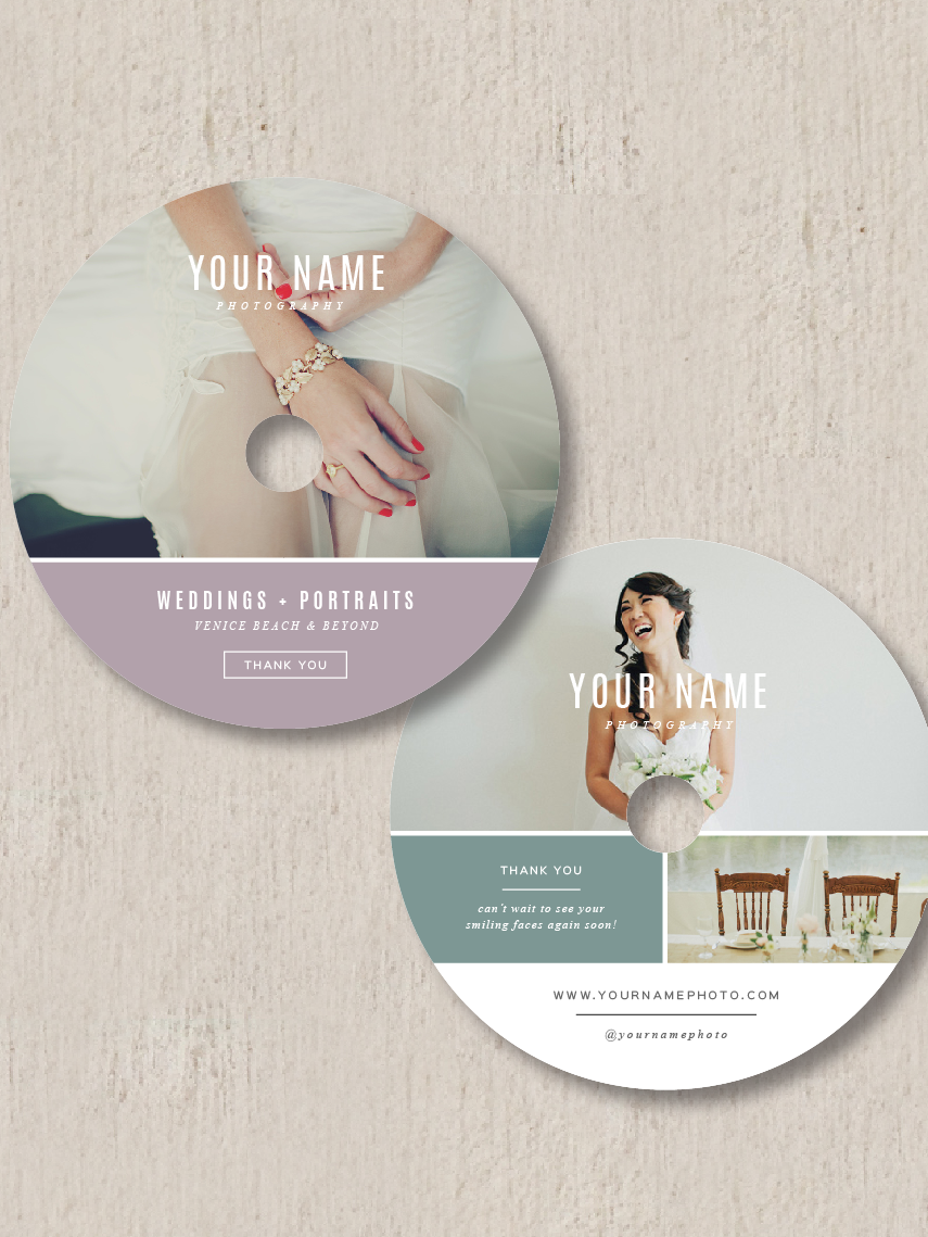 Wedding Photography Branding | Template, Gift card template and ...