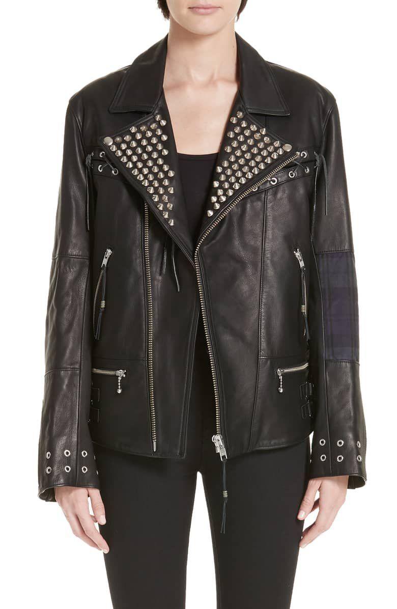 Alchemist The Bad Brain Blackmeans Leather Jacket Nordstrom Women Clothes Sale Leather Jacket Leather Jackets Women [ 1196 x 780 Pixel ]