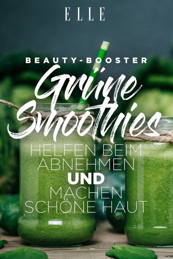 Grüne Smoothies: 3 Rezepte zum Abnehmen und für schöne Haut