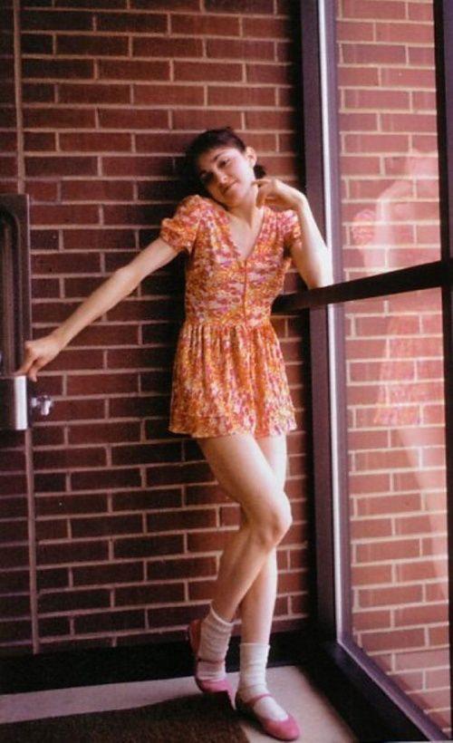 Una joven Madonna de 18 años.