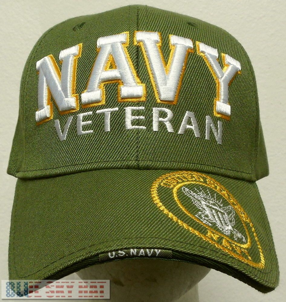 NAVAL USN NAVY SEAL TEAM SPECIAL WARFARE TRIDENT SEA AIR LAND CAP HAT BLUE U.S