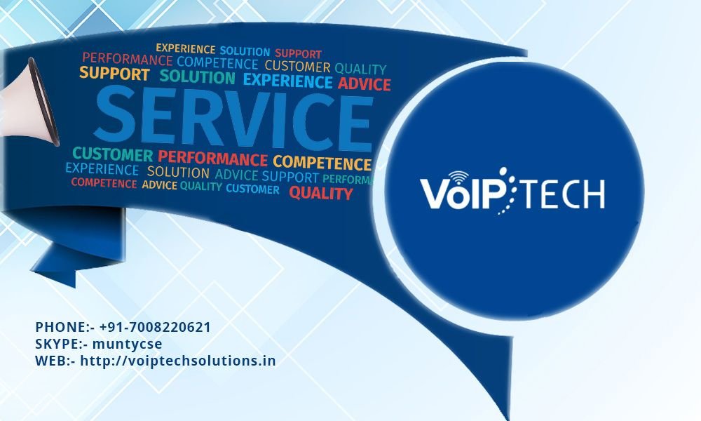 To know more visit http://voiptechsolutions.in/ or call us at +91-7008220621 today.