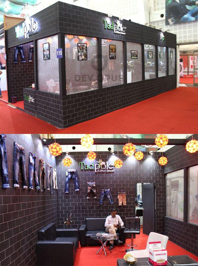 Garment exhibition stall design and fabrication at ahmedabad gujarat india also dev opus pvt ltd devopus on pinterest rh