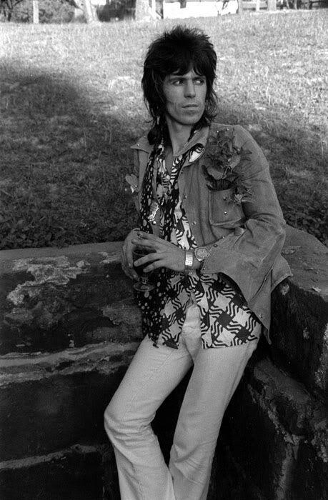 Keith Richards at Monsalvat, Victoria, Australia photo Rennie Ellis 1973