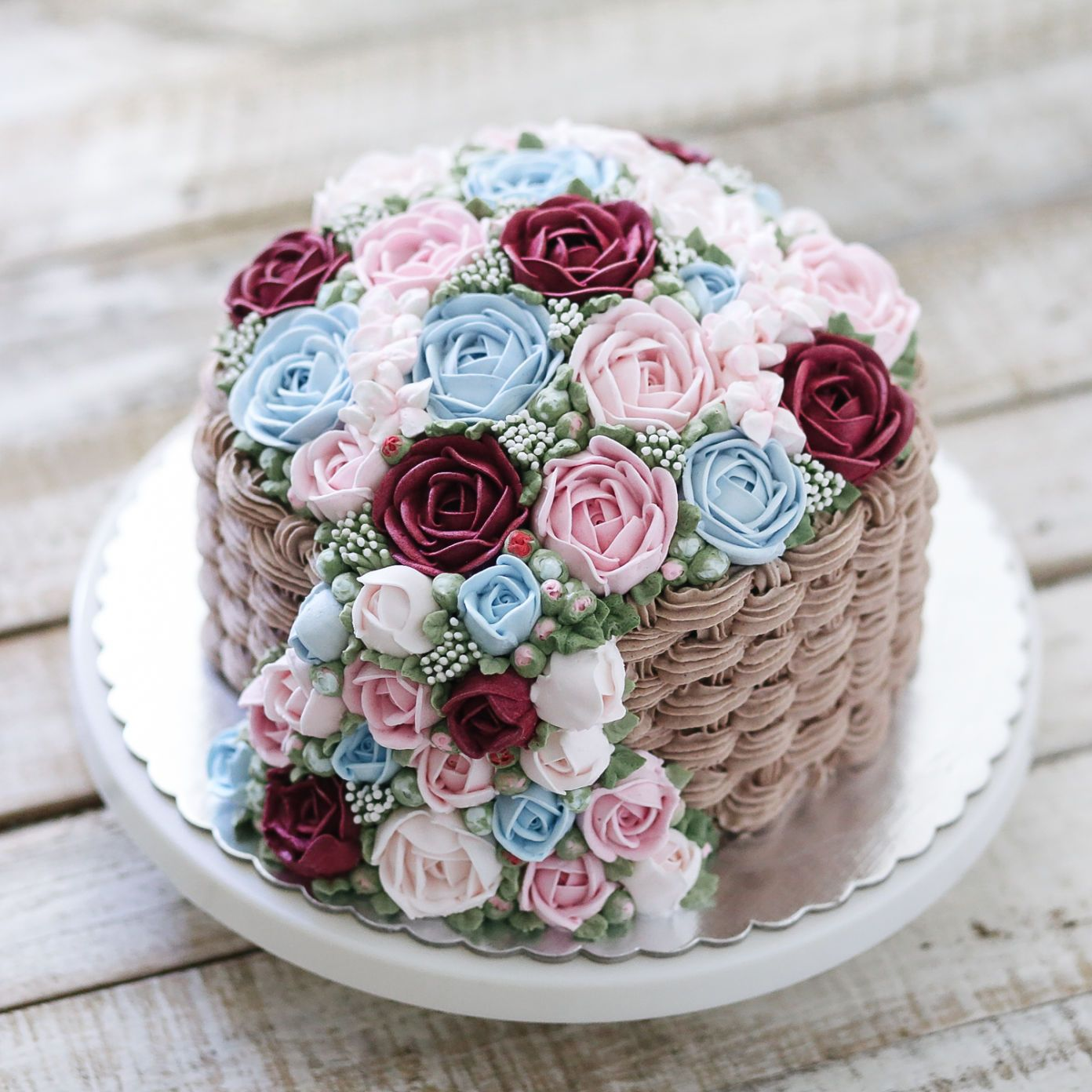 Anniversary or birthday cake by ivenoven 011 food art idea anniversary or birthday cake by ivenoven 011 izmirmasajfo Image collections