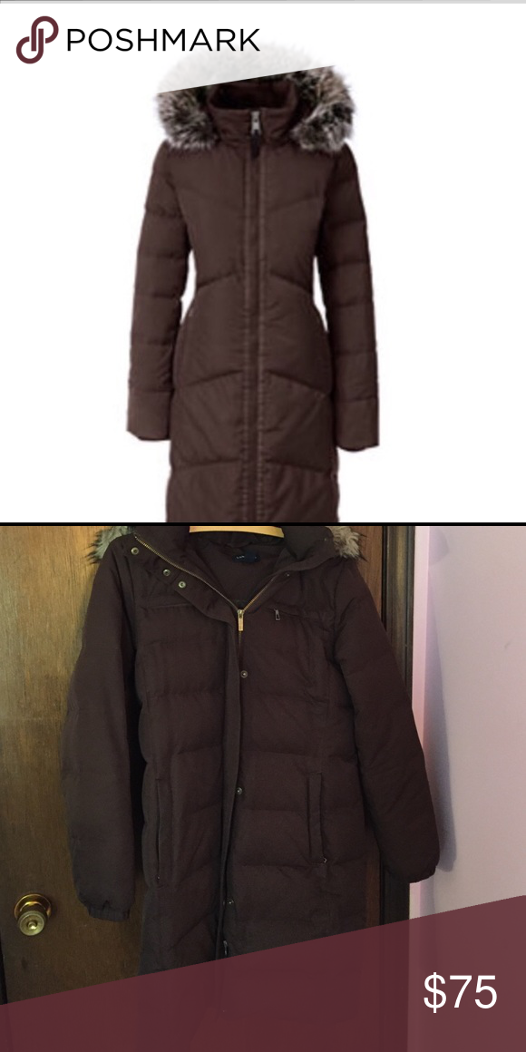 Lands End winter jacket Land's End winter jacket. Super warm, like new condition. Zipper works very well. Jackets & Coats Puffers