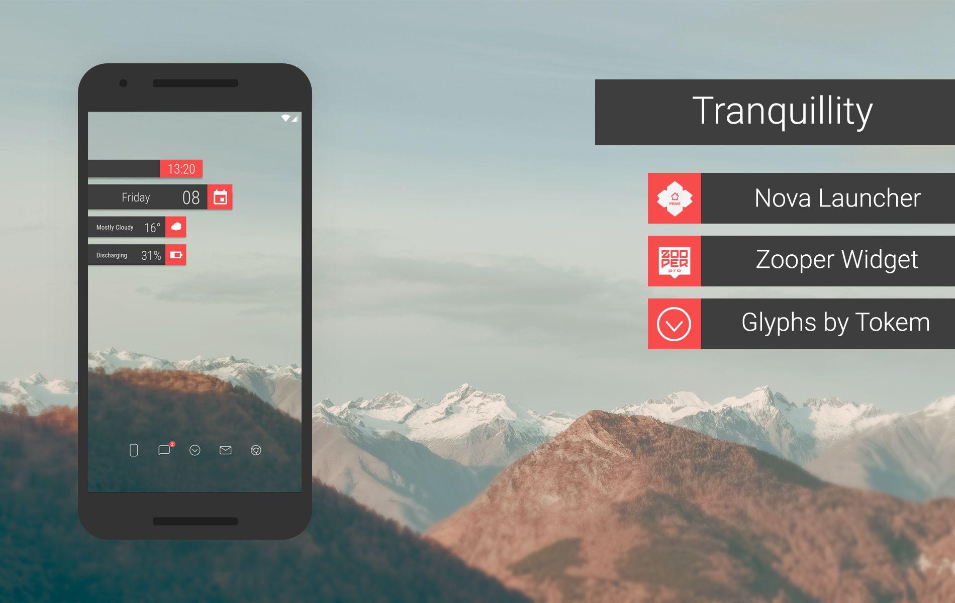 Android Home Screen Setups by Santosh Pansare Homescreen