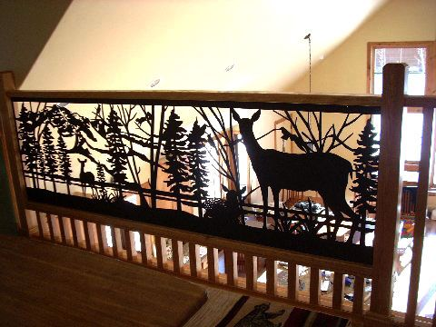 Product Photo Gallery | Mt Tallac and Deer Railing | Indoor balcony ...