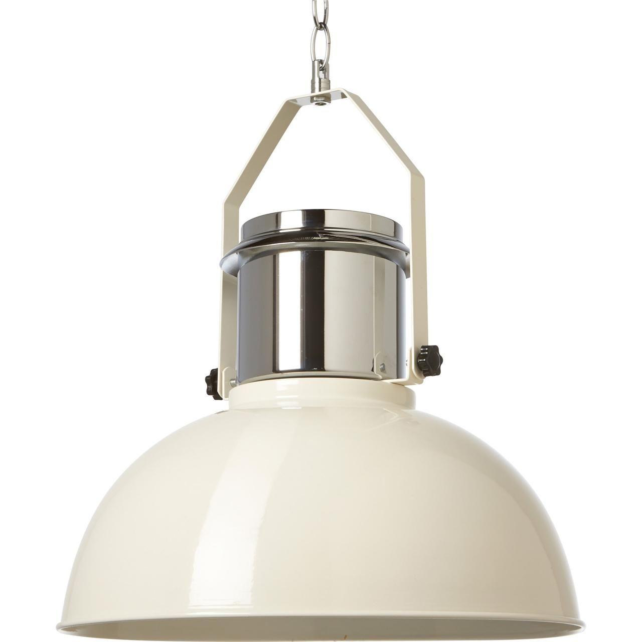 good hanglamp industrie xxl creme voor kwantum verlichting