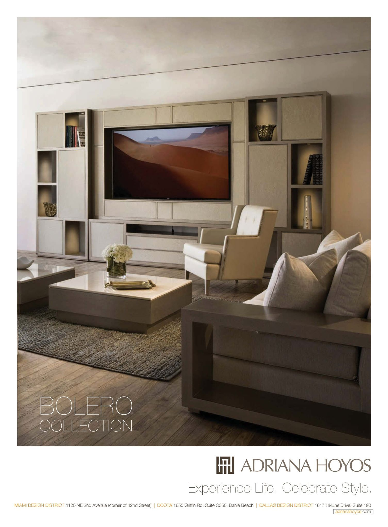 Incorporating Tv Into Larger Wall Space Florida House