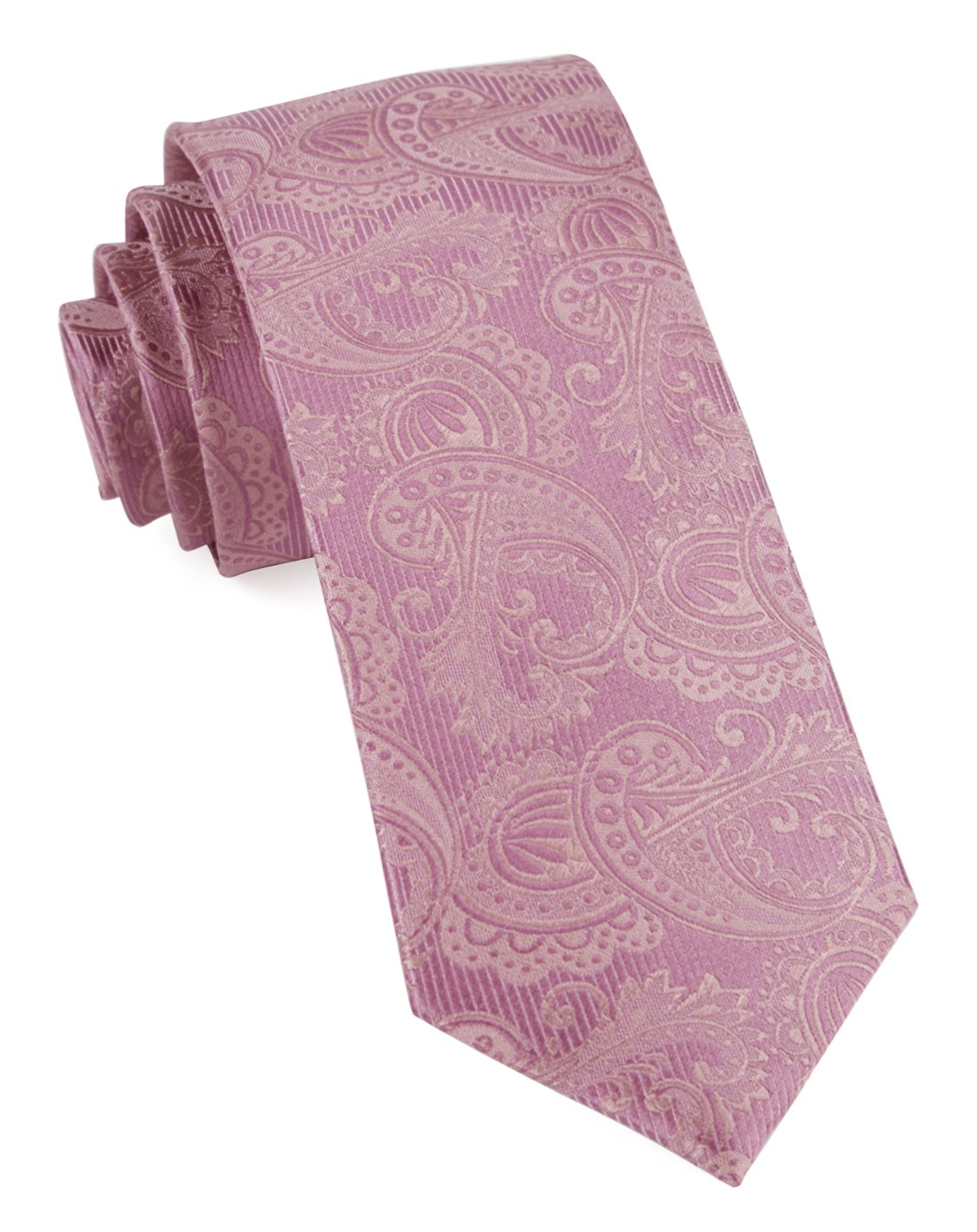 Twill Paisley Dusty Rose Tan Wedding Ties Tie And Pocket Square