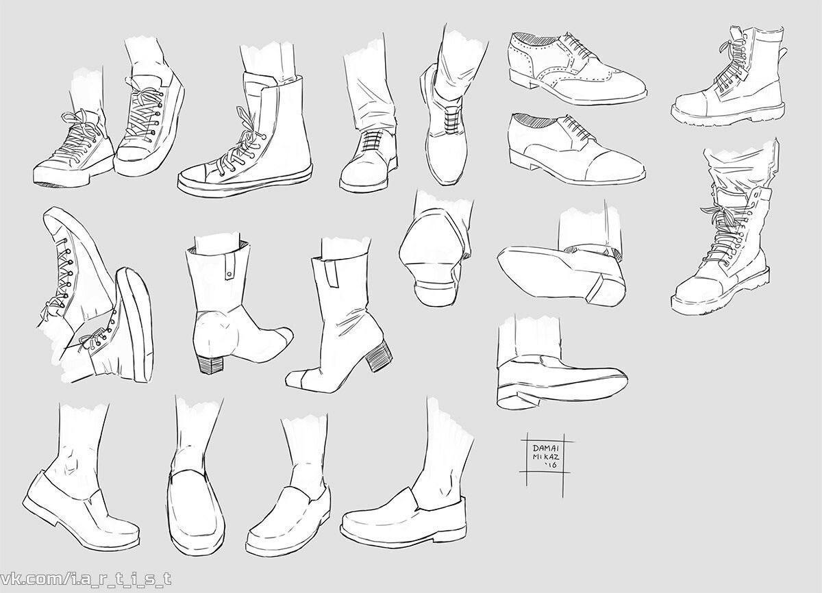 #обувь | Наброски, Рисование эскизов, Рисовать
