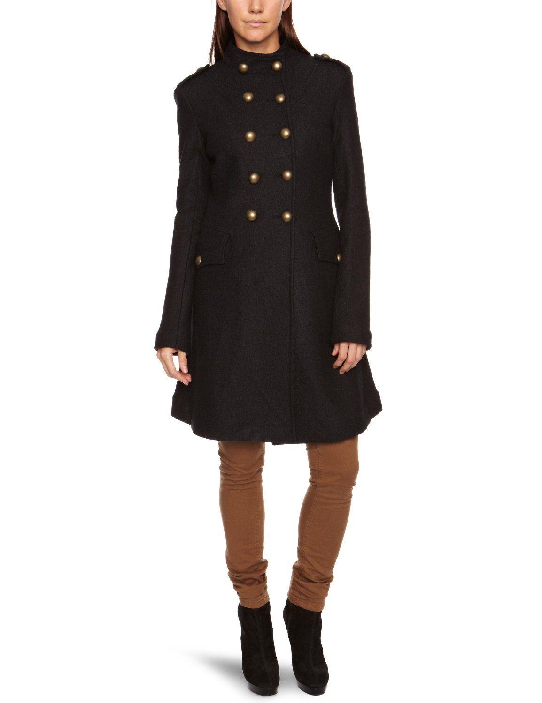 another chance 4fc55 e94b1 $176 Fornarina Polak Women's Coat: Amazon.co.uk: Clothing ...