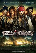 Piratas das Caraíbas por Estranhas Marés