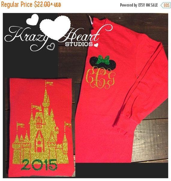SHOP SALE Christmas Castle Disney Shirt By