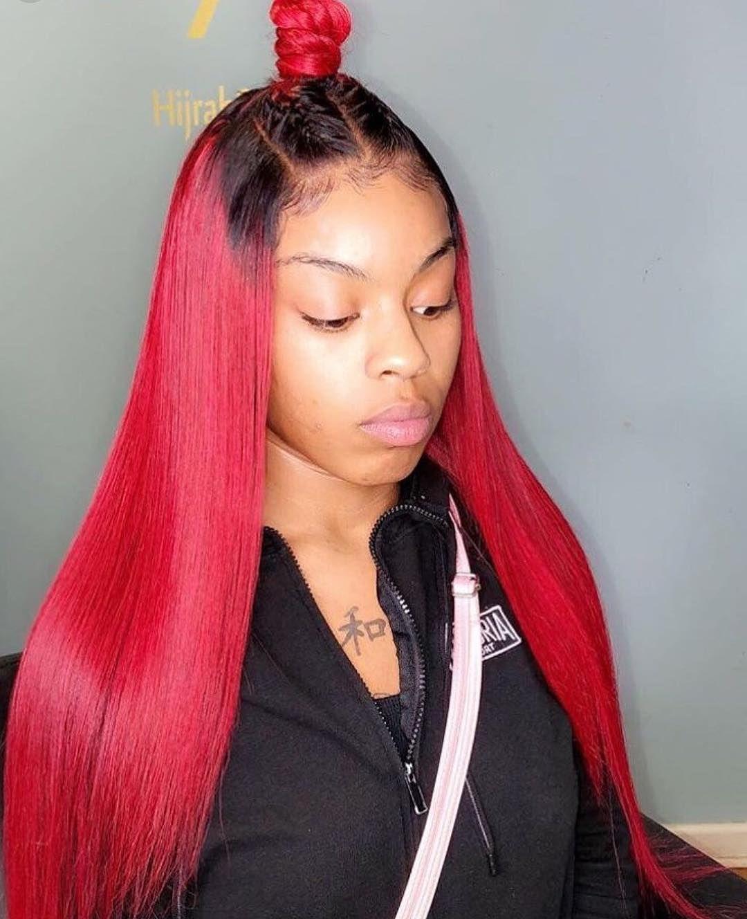 red weave hairstyles | red weave hairstyles black women in