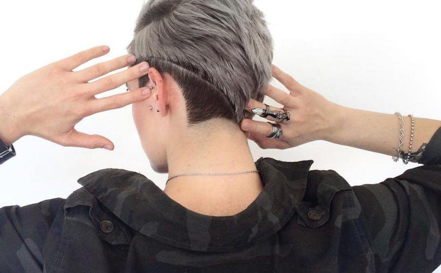 Coole Frisur Fur Tomboy Neue Frisuren Tomboy Hairstyles New Hair Undercut Hairstyles Women