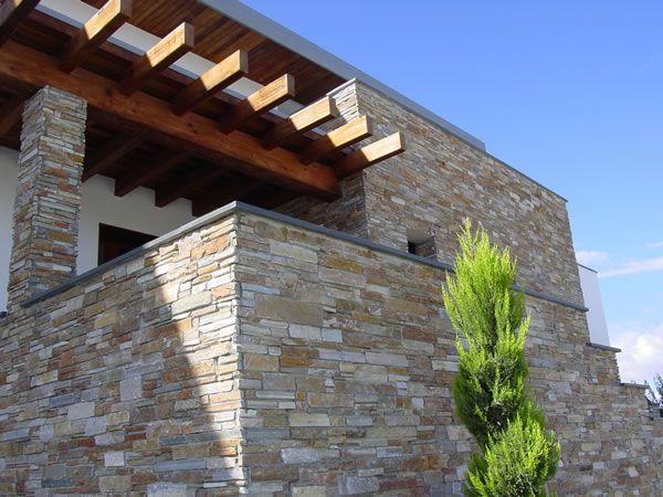 Panel de piedra natural stonepanel panel piedra stonepanel casa exterior arquitectura - Panel piedra exterior ...