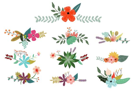 Vintage Vector Flowers Vector Flowers Vintage Flowers Illustration Design