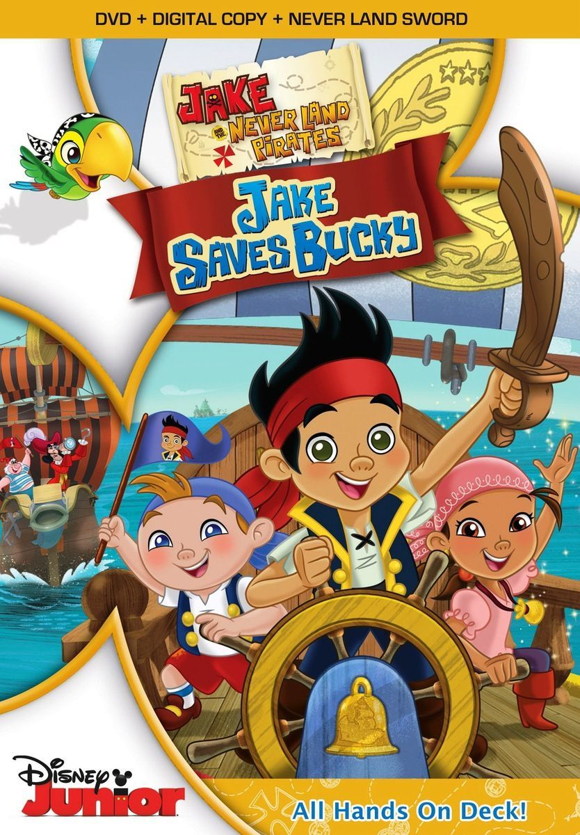 Jake and the Never Land Pirates: Jake Saves Bucky - Movie Review