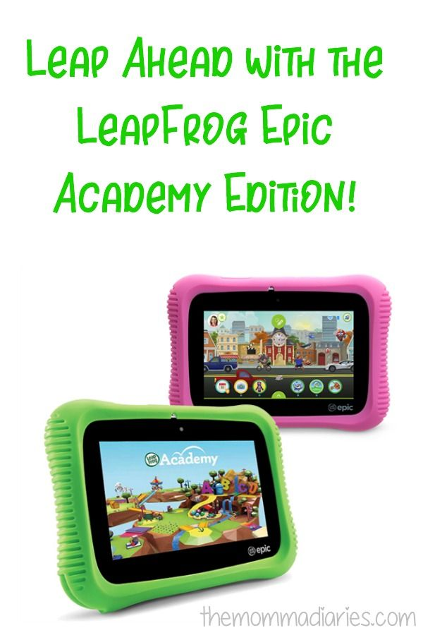 Leap Ahead with the LeapFrog Epic Academy Edition | 2017