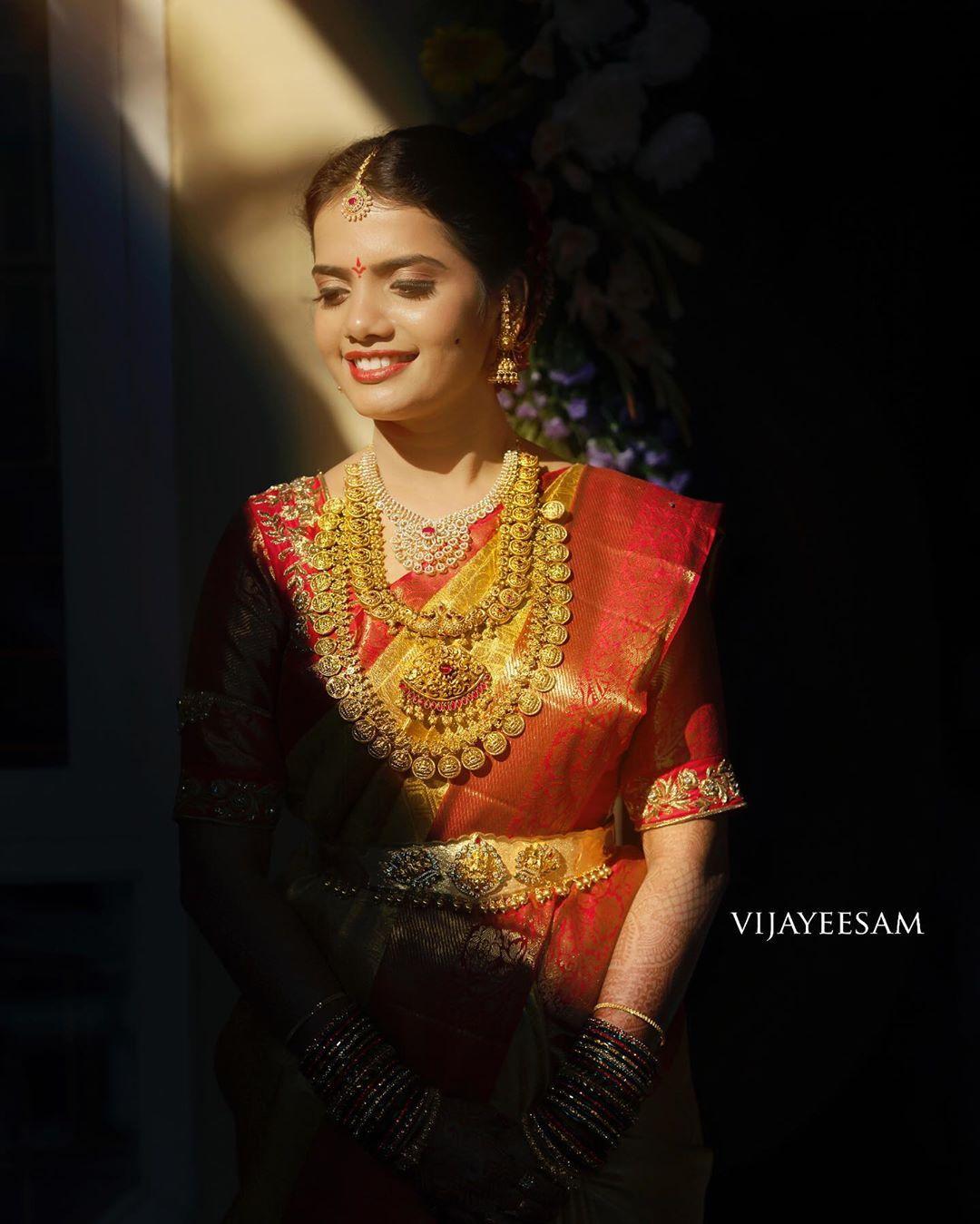 Image may contain 1 person Bridal blouse designs, Bride