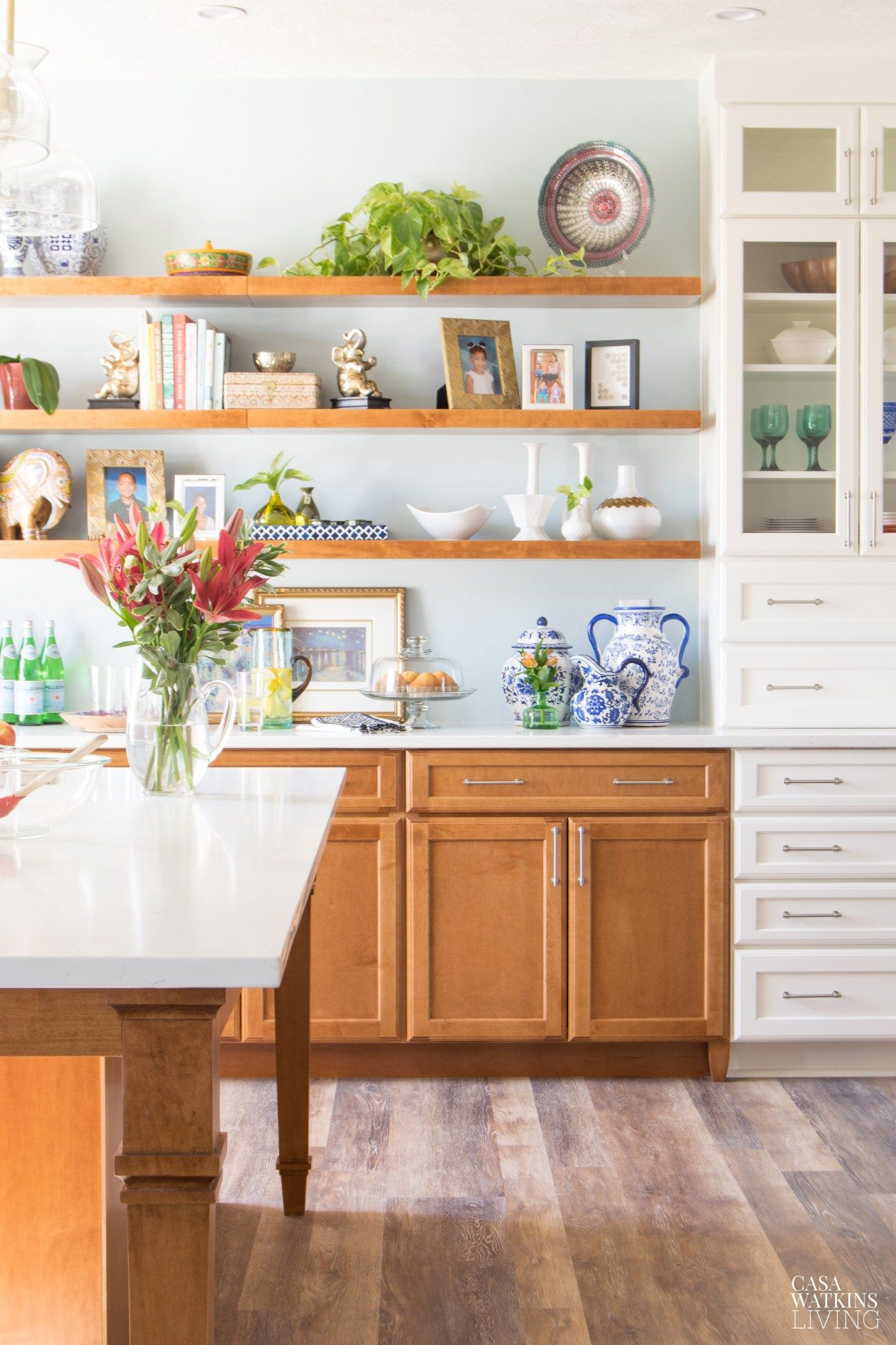 Modern Classic Kitchen Design: Modern White Bohemian Kitchen Renovation: Reveal